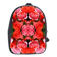 Beautiful Red Roses School Bags (xl)  by Costasonlineshop