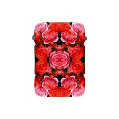 Beautiful Red Roses Apple Ipad Mini Protective Soft Cases by Costasonlineshop