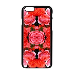 Beautiful Red Roses Apple Iphone 6/6s Black Enamel Case by Costasonlineshop
