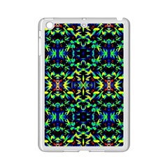 Cool Green Blue Yellow Design iPad Mini 2 Enamel Coated Cases by Costasonlineshop