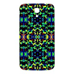 Cool Green Blue Yellow Design Samsung Galaxy Mega I9200 Hardshell Back Case by Costasonlineshop
