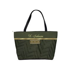 Basket Weave Classic Shoulder Handbag By Deborah   Classic Shoulder Handbag   Apcnbje976ql   Www Artscow Com Back