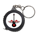 Flying Heart Guitar Measuring Tape
