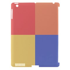 4 Squaresapple Ipad 3/4 Hardshell Case (compatible With Smart Cover) by LalyLauraFLM