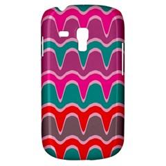 Waves Patternsamsung Galaxy S3 Mini I8190 Hardshell Case by LalyLauraFLM