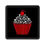 Skull Cupcake Memory Card Reader (Square)