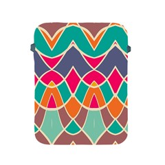 Wavy Design			apple Ipad 2/3/4 Protective Soft Case by LalyLauraFLM