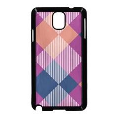 Argyle variationSamsung Galaxy Note 3 Neo Hardshell Case (Black) by LalyLauraFLM