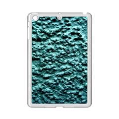 Blue Green  Wall Background Ipad Mini 2 Enamel Coated Cases by Costasonlineshop