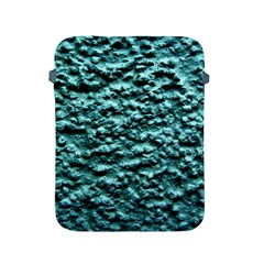 Blue Green  Wall Background Apple Ipad 2/3/4 Protective Soft Cases by Costasonlineshop