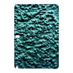 Blue Green  Wall Background Samsung Galaxy Tab Pro 12 2 Hardshell Case by Costasonlineshop