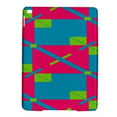Rectangles And Diagonal Stripesapple Ipad Air 2 Hardshell Case by LalyLauraFLM