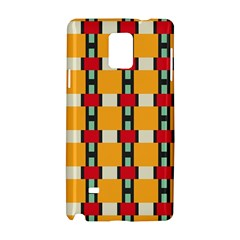Rectangles And Squares Patternsamsung Galaxy Note 4 Hardshell Case by LalyLauraFLM