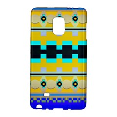 Rectangles And Other Shapes			samsung Galaxy Note Edge Hardshell Case by LalyLauraFLM