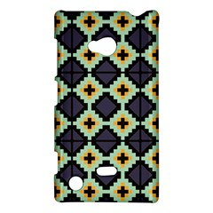 Pixelated Pattern			nokia Lumia 720 Hardshell Case by LalyLauraFLM