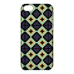 Pixelated Patternapple Iphone 5c Hardshell Case by LalyLauraFLM