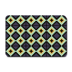 Pixelated Pattern			small Doormat by LalyLauraFLM