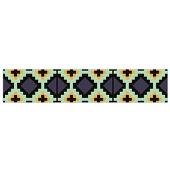 Pixelated Pattern Flano Scarf by LalyLauraFLM