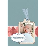 baby - 5.5  x 8.5  Notebook