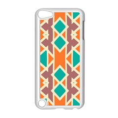 Rhombus Triangles And Other Shapesapple Ipod Touch 5 Case (white) by LalyLauraFLM