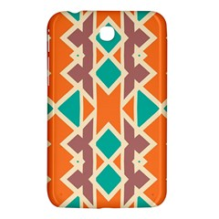 Rhombus Triangles And Other Shapessamsung Galaxy Tab 3 (7 ) P3200 Hardshell Case by LalyLauraFLM