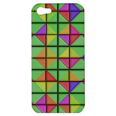 3d Rhombus Pattern			apple Iphone 5 Hardshell Case by LalyLauraFLM