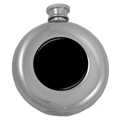Black Gothic Round Hip Flask (5 Oz) by Costasonlineshop