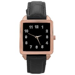 Black Gothic Rose Gold Watches by Costasonlineshop