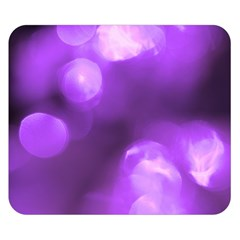 Purple Circles Double Sided Flano Blanket (small)  by timelessartoncanvas