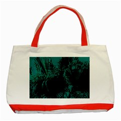 Palm Designs Classic Tote Bag (red)  by timelessartoncanvas