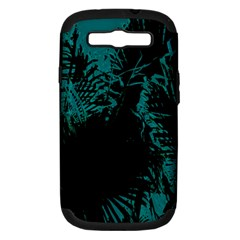 Palm Designs Samsung Galaxy S Iii Hardshell Case (pc+silicone) by timelessartoncanvas