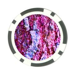 Purple Tree Bark Poker Chip Card Guards by timelessartoncanvas