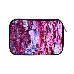 Purple Tree Bark Apple iPad Mini Zipper Cases by timelessartoncanvas