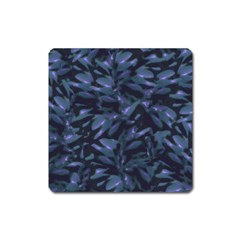 Tropical Dark Pattern Square Magnet by dflcprints