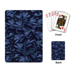 Tropical Dark Pattern Playing Card by dflcprints