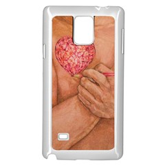 Embrace Love  Samsung Galaxy Note 4 Case (white) by KentChua