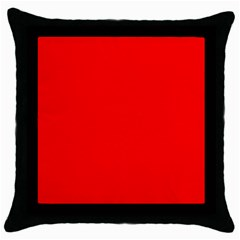 Trendy Red  Throw Pillow Cases (black) by Costasonlineshop