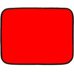 Trendy Red  Double Sided Fleece Blanket (mini)  by Costasonlineshop