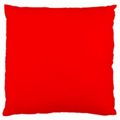 Trendy Red  Large Cushion Cases (Two Sides)  by Costasonlineshop