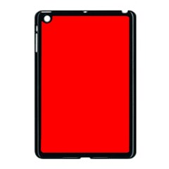 Trendy Red  Apple iPad Mini Case (Black) by Costasonlineshop