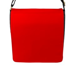 Trendy Red  Flap Messenger Bag (l)  by Costasonlineshop