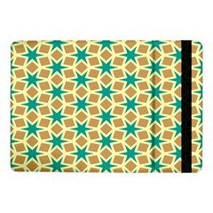 Stars And Squares Pattern			samsung Galaxy Tab Pro 10 1  Flip Case by LalyLauraFLM