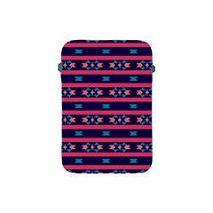 Stripes And Other Shapes Pattern			apple Ipad Mini Protective Soft Case by LalyLauraFLM