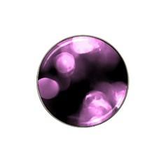 Purple Circles No  2 Hat Clip Ball Marker by timelessartoncanvas