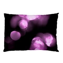 Purple Circles No  2 Pillow Cases by timelessartoncanvas