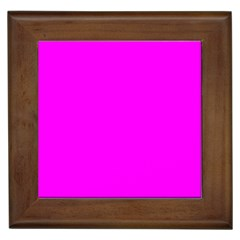 Trendy Purple  Framed Tiles by Costasonlineshop