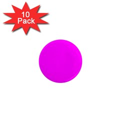 Trendy Purple  1  Mini Magnet (10 pack)  by Costasonlineshop