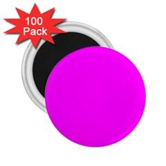Trendy Purple  2 25  Magnets (100 Pack)  by Costasonlineshop