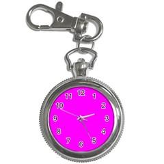 Trendy Purple  Key Chain Watches by Costasonlineshop
