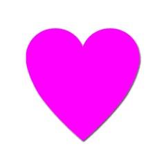Trendy Purple  Heart Magnet by Costasonlineshop